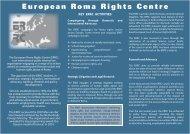 View it (Acrobat pdf format)! - European Roma Rights Centre
