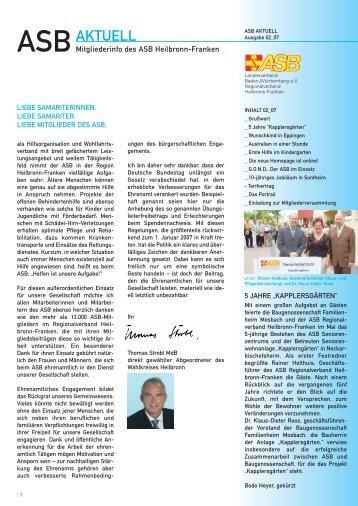 PDF, Größe - ASB Heilbronn