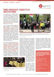 eRRC news - European Roma Rights Centre