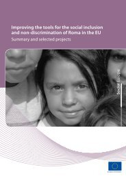 Improving the tools for the social inclusion and non-discrimination of ...