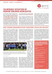 Vol. 13, Sep 2011 - European Roma Rights Centre