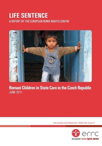 Life Sentence - European Roma Rights Centre
