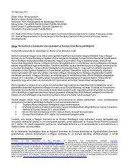 Konzultáció a társadalmi szervezetekkel az Európai Unió Roma ...
