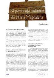 El personaje histórico de María Magdalena, Lourdes ... - Errenteria