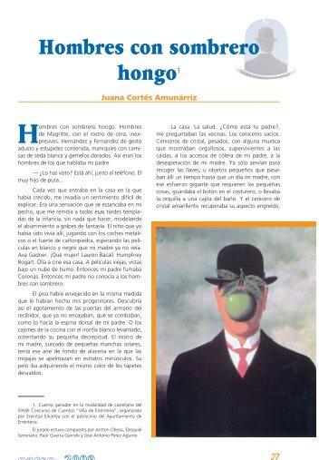 HOMBRES CON SOMBRERO DE HONGO Juana ... - Errenteria