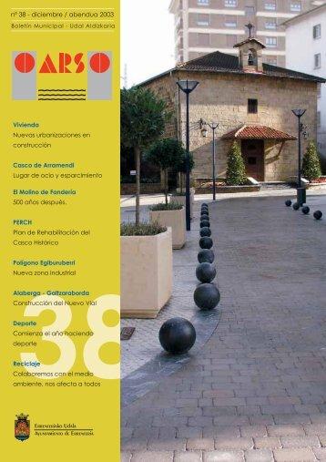 nº 38 2003 - Errenteria
