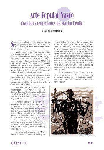 GRABADOS RENTERIANOS DE MARTIN ... - Errenteria