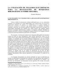 Fernando Mikelarena La utilización de tesauros ... - Errenteria