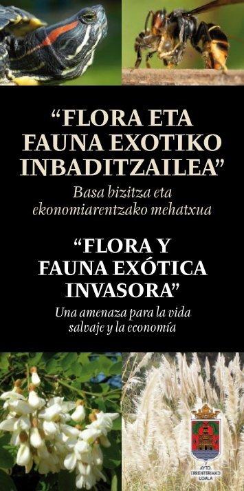 Flora y Fauna exótica invasora - Errenteria