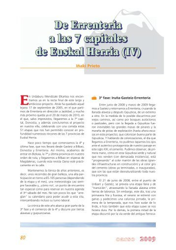(IV) Iñaki Prieto - Errenteria