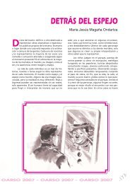 DETRÁS DEL ESPEJO Maria Jesús Magaña Ondartza - Errenteria