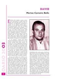 DAVID Mertxe Carneiro Bello - Errenteria