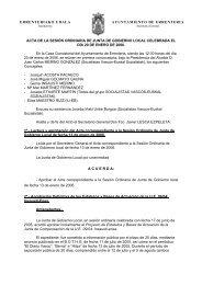 errenteriako udala ayuntamiento de errenteria acta de la sesión ...