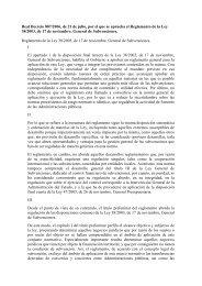 Reglamento de la Ley General de subvenciones - Errenteria