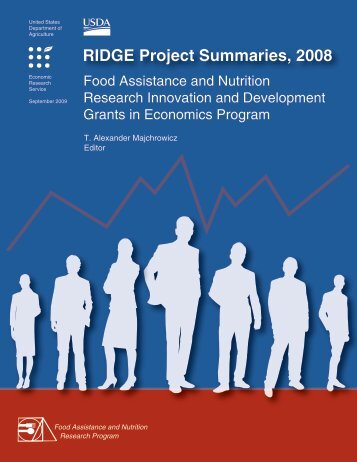 RIDGE Project Summaries, 2008 - Economic Research Service - US ...