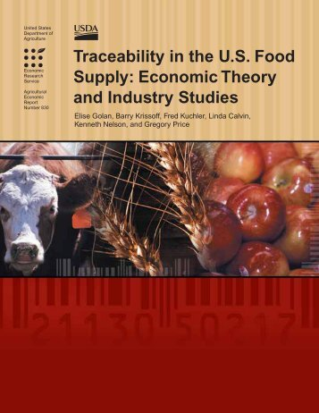 Traceability in the US Food Supply - Economic Research Service ...