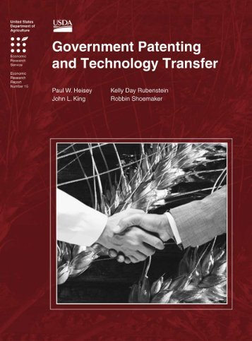 Government Patenting and Technology Transfer - Economic ...