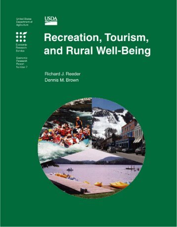 Recreation, Tourism, and Rural Well-Being - Economic Research ...