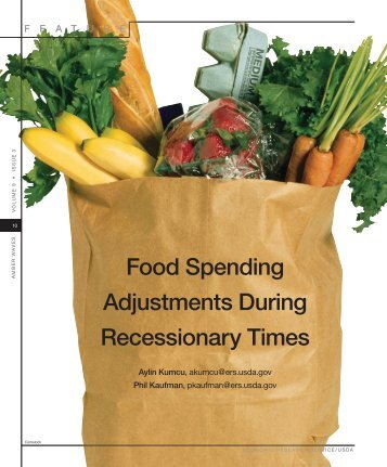 Food Spending Adjustments During Recessionary Times, Amber ...