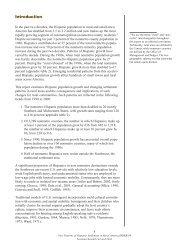 New Patterns of Hispanic Settlement in Rural America - Economic ...