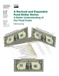 A Revised and Expanded Food Dollar Series - Economic Research ...