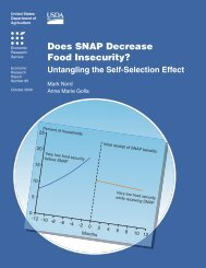 Does SNAP Decrease Food Insecurity? - Economic Research ...