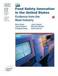 Food Safety Innovation in the United States - Economic Research ...