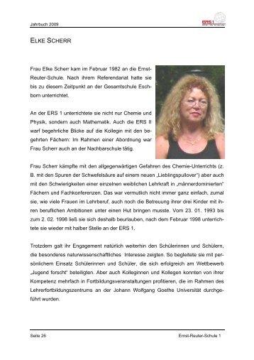 ELKE SCHERR - Ernst-Reuter-Schule 1