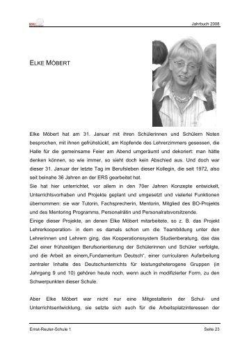 ELKE MÖBERT - Ernst-Reuter-Schule 1