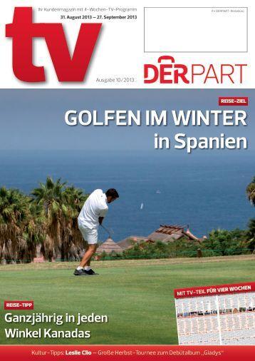 DERPART TV - Ausgabe 10/2013