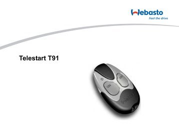 Telestart T91 - Standheizung-Shop