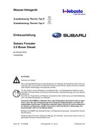 Subaru Forester 2.0 Boxer Diesel - Ersatzteilbox