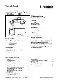 Land Rover - Ersatzteilbox