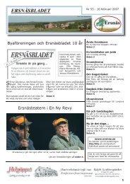 16 feb 2007 - nr 53 - Ersnäs hemsida