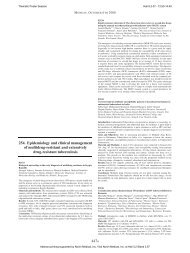254. Epidemiology and clinical management of multidrug-resistant ...