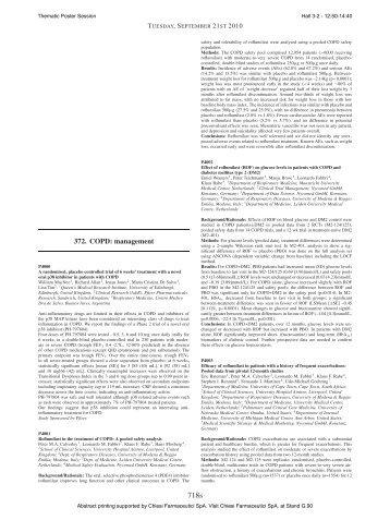 372. COPD: management