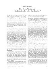 Urkatastrophe oder Katalysator? - Themenportal Erster Weltkrieg