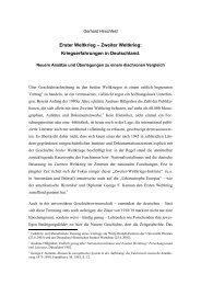 Gerhard Hirschfeld - Themenportal Erster Weltkrieg