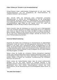 Bericht Kathpress - ERSTE Stiftung