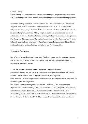 Vortrag Carmen Ludwig - ERSTE Stiftung
