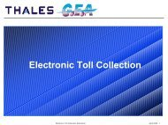 Electronic Toll Collection - ERTICO.com