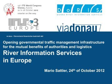 Opening governmental traffic management ... - ERTICO.com
