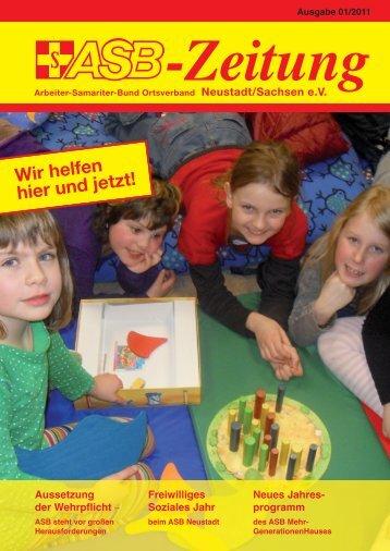 Neues Jahres - ASB OV Neustadt/Sachsen ev