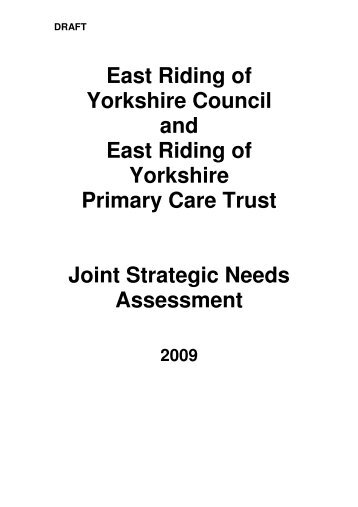 Refresh Of Joint Strategic Needs Assessment Pdf  Mb  Meetings