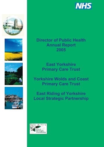 Director of Public Health Annual Report 2005 - East Riding of ...