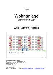 Wohnen Plus - ASB RV NORD-OST ev