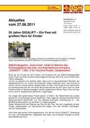 """""""Anne Frank"""" erhält im Rahmen des ... - ASB RV NORD-OST eV"""