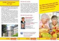 Seniorenhaus Selbstbestimmt leben in der ... - ASB RV NORD-OST ev