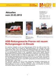 Aktuelles vom 23.03.2012 Asb-Rettungswache Prerow mit neuem ...