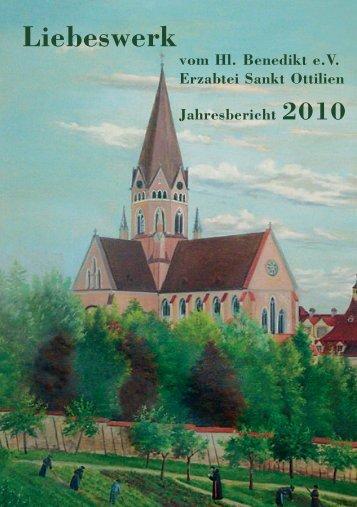 Jahresbericht 2010 - Erzabtei St. Ottilien
